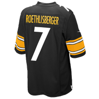 Nike NFL Game Day Jersey - Men's - Pittsburgh Steelers - Black / Gold
