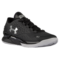 Under Armour Charged Foam Curry 1 Low - Men's -  Stephen Curry - Black / Silver