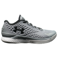Under Armour Charged Foam Curry 1 Low - Men's -  Stephen Curry - Grey / Black