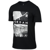 Jordan Playground T-Shirt - Men's - Black / White