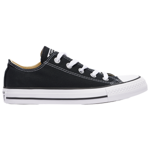 Converse All Star Ox - Boys' Grade School - Black
