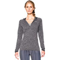 Under Armour Tech Long-Sleeve Hoodie - Women's - Grey / Black