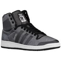 adidas Originals Top Ten Hi - Men's - Grey / Black