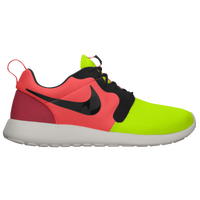 Nike Roshe Run - Men's - Light Green / Black