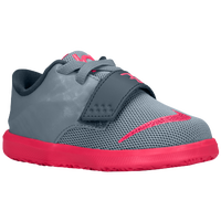 Nike KD 7 - Boys' Toddler - Grey / Pink