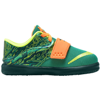 Nike KD 7 - Boys' Toddler -  Kevin Durant - Green / Dark Green