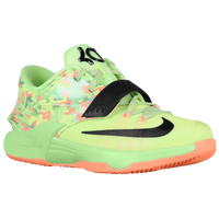 Nike KD 7 - Boys' Toddler - Light Green / Black
