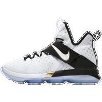 3fd189b86589 ... Nike LeBron 14 - Boys  Grade School - LeBron James - White   Black ...