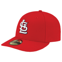 New Era MLB 59Fifty Low Crown Authentic Cap - Men's - St. Louis Cardinals - Red / White