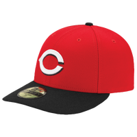New Era MLB 59Fifty Low Profile Authentic Cap - Men's - Cincinnati Reds - Red / White