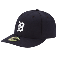 New Era MLB 59Fifty Low Crown Authentic Cap - Men's - Detroit Tigers - Navy / White