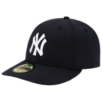 New Era MLB 59Fifty Low Profile Authentic Cap - Men's - New York Yankees - Navy / White