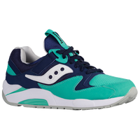 Saucony Grid 9000 - Men's - Navy / Aqua