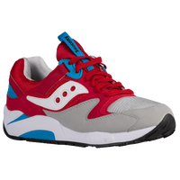 Saucony Grid 9000 - Men's - Red / Grey