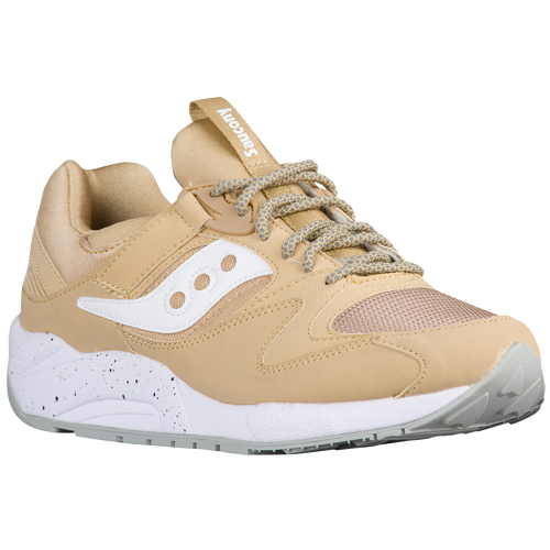 Saucony Grid 9000 - Men's - Tan / White