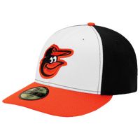 New Era MLB 59Fifty Low Crown Authentic Cap - Men's - Baltimore Orioles - Black / White