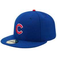 New Era MLB 59Fifty Authentic Cap - Men's - Chicago Cubs - Blue / Red