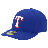 New Era MLB 59Fifty Low Profile Authentic Cap - Men's - Texas Rangers - Blue / White