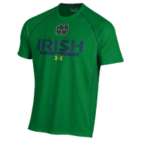Under Armour College Limitless Performance T-Shirt - Men's - Notre Dame Fighting Irish - Green / Navy