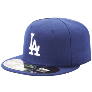 New Era 59FIFTY MLB Authentic Cap - Men's - Los Angeles Dodgers - Royal