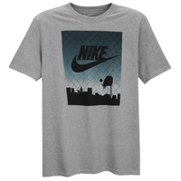 Nike Graphic T-Shirt - Men's - Grey / Black