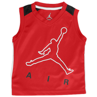 Jordan Jumpy Air Tank Set - Boys' Toddler - Red / Black