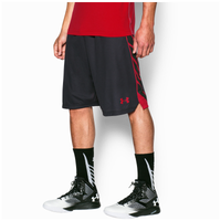Under Armour Select Shorts - Men's - Black / Red