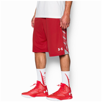 Under Armour Select Shorts - Men's - Red / Grey