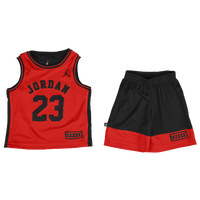Jordan 2 Piece Muscle Set - Boys' Toddler - Black / Red