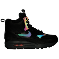 Nike Air Max 1 Mid Sneakerboot - Women's - Black / Red
