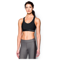 Under Armour Armour Mid Bra - Women's - Black / Grey