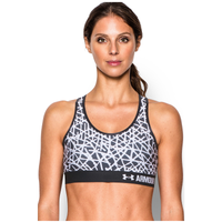 Under Armour Armour Mid Bra - Women's - Black / White