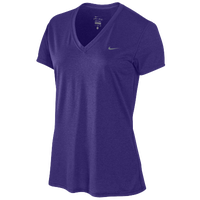 Nike S/S Legend V T-Shirt - Women's - Purple / Purple