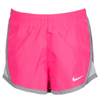 Nike Tempo Shorts - Girls' Toddler - Pink / Grey