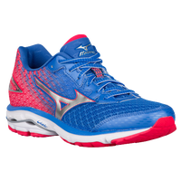 Mizuno Wave Rider 19 - Women's - Blue / Red