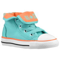 Converse AS SUPER HI - Girls' Toddler - Aqua / Orange