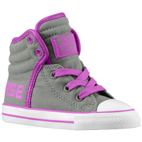 Converse CT Swag Hi - Boys' Toddler - Grey / Purple