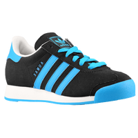 adidas Originals Samoa - Boys' Grade School - Black / Light Blue