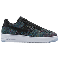 Nike Air Force 1 Ultra Flyknit Low - Men's - Black / Multicolor
