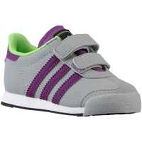 adidas Originals Samoa - Boys' Toddler - Grey / Purple