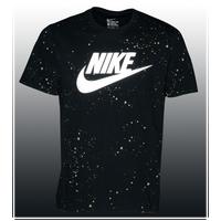 Nike Graphic T Shirt Men's Black Gold
