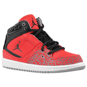 Jordan 1 Flight  - Boys' Preschool - Fire Red/Black/Cement