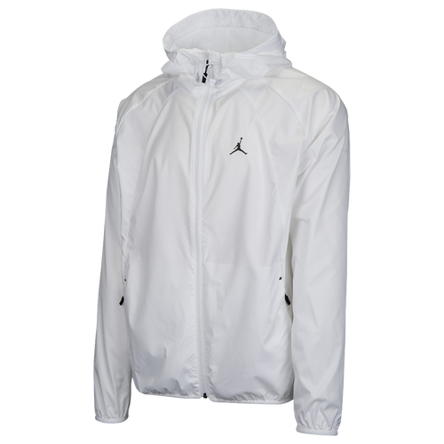 Jordan Wings Windbreaker - Men's - Basketball - Clothing - White