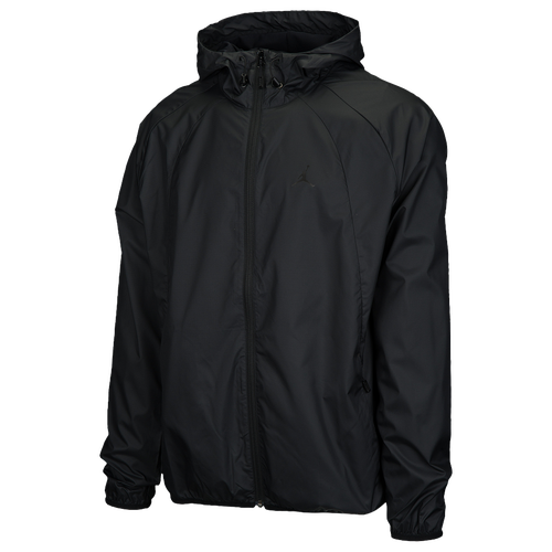 Jordan Wings Windbreaker - Men's - Basketball - Clothing - Black