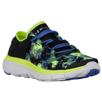 Under Armour SpeedForm Fortis - Girls' Grade School - Black / Light Green