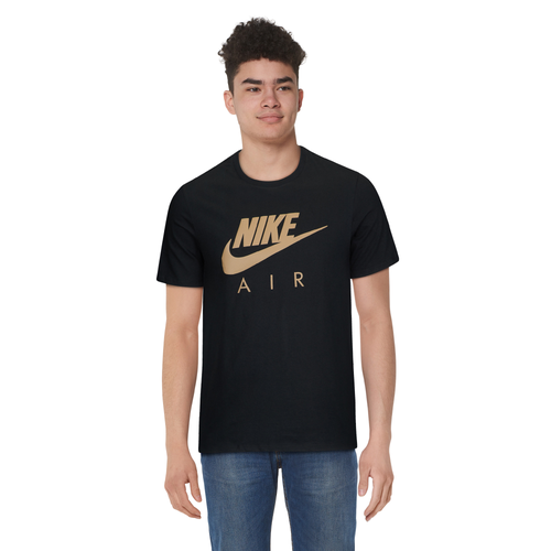 Nike Graphic T-Shirt - Men's - Casual - Clothing - Black/Gold ...