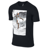 Jordan Dunk From Above T-Shirt - Men's - Black / White