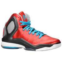 adidas D Rose 5 Boost - Men's -  Derrick Rose - Red / Light Blue