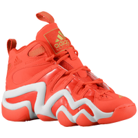 adidas Crazy 8 - Boys' Grade School - Red / White