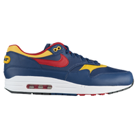 Nike Air Max 1 Premium - Men's - Navy / Red